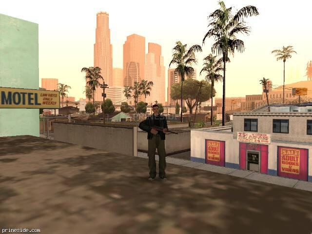 Просмотр погоды GTA San Andreas с ID 41 в 10 часов
