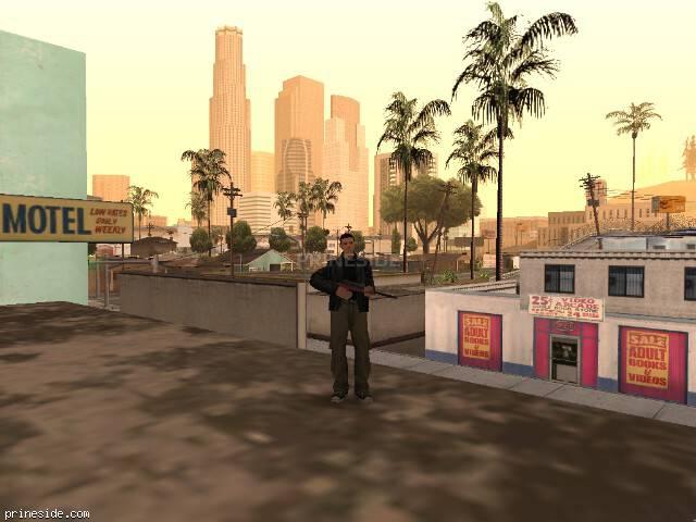 Просмотр погоды GTA San Andreas с ID 41 в 13 часов