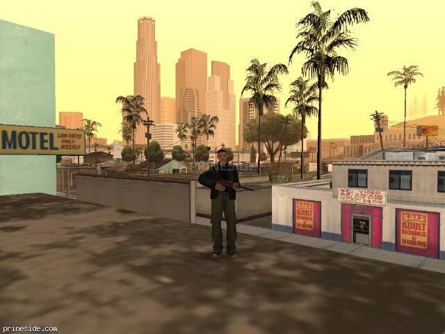 Просмотр погоды GTA San Andreas с ID 41 в 15 часов