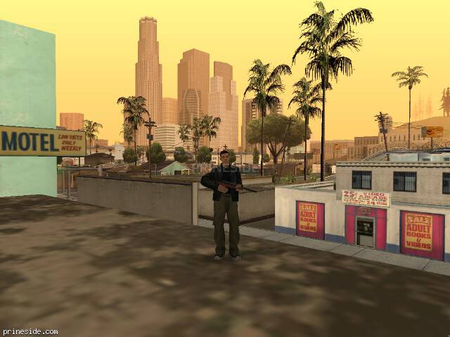 Просмотр погоды GTA San Andreas с ID 41 в 17 часов