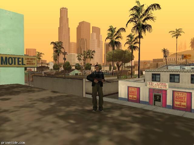 Просмотр погоды GTA San Andreas с ID 41 в 18 часов