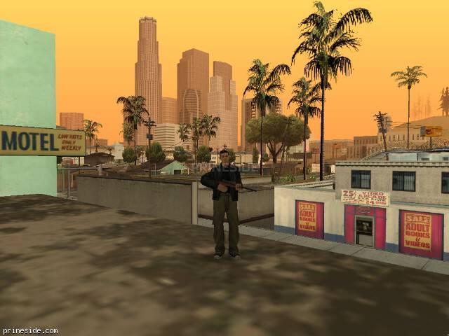 Просмотр погоды GTA San Andreas с ID 41 в 19 часов