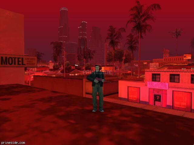 Просмотр погоды GTA San Andreas с ID 41 в 21 часов