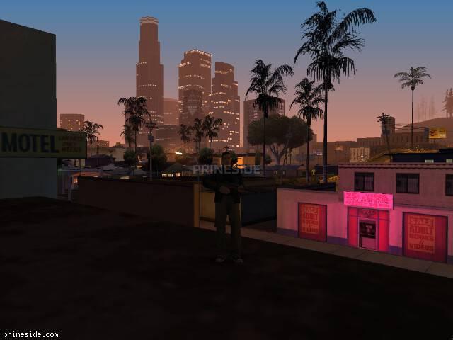 Просмотр погоды GTA San Andreas с ID 41 в 2 часов