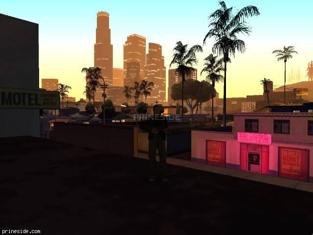 Просмотр погоды GTA San Andreas с ID 41 в 5 часов