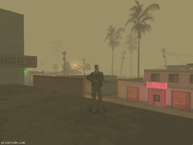 GTA San Andreas weather ID 298 at 0 hours