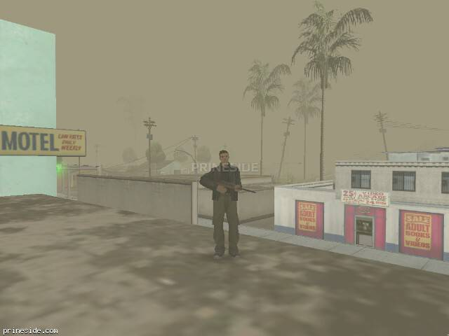 GTA San Andreas weather ID 42 at 12 hours
