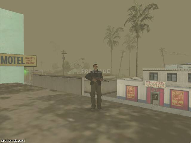 GTA San Andreas weather ID 298 at 16 hours