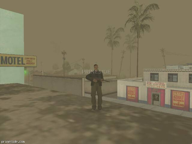 GTA San Andreas weather ID 298 at 18 hours