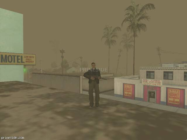 GTA San Andreas weather ID -214 at 19 hours