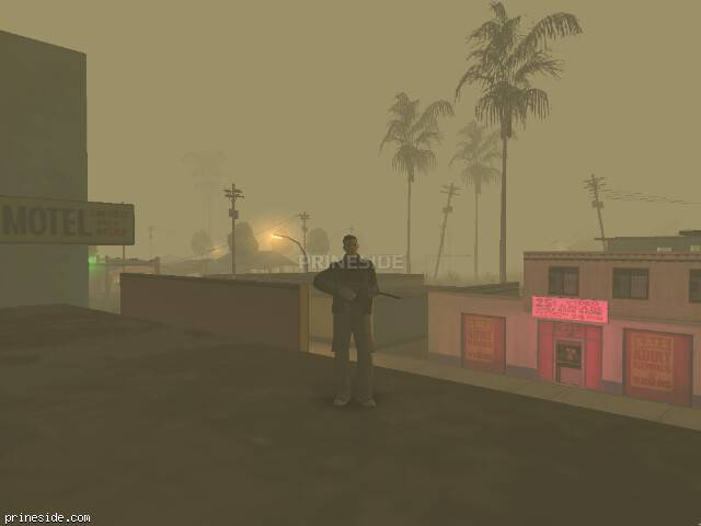 GTA San Andreas weather ID 42 at 1 hours