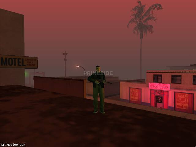 GTA San Andreas weather ID 1066 at 21 hours