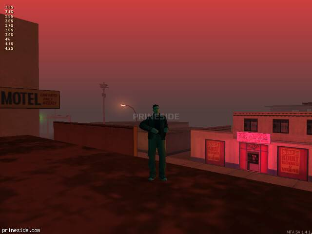 GTA San Andreas weather ID 42 at 22 hours