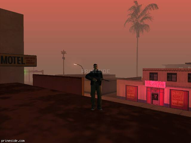 GTA San Andreas weather ID 1066 at 23 hours
