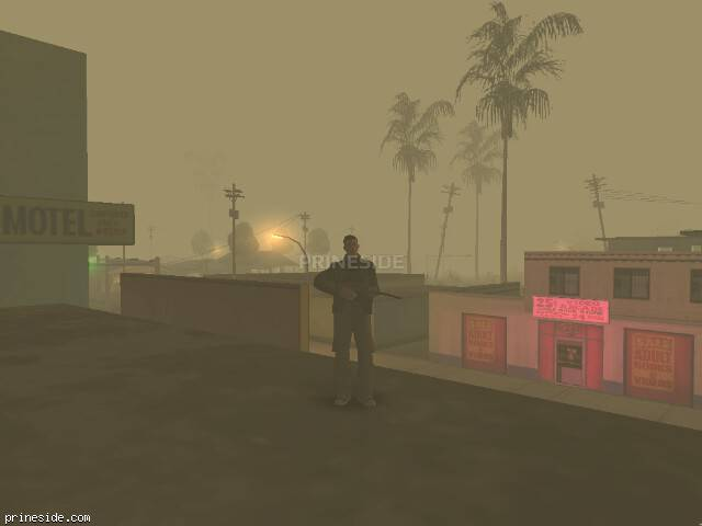 GTA San Andreas weather ID 42 at 2 hours