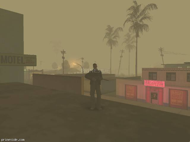 GTA San Andreas weather ID 298 at 4 hours