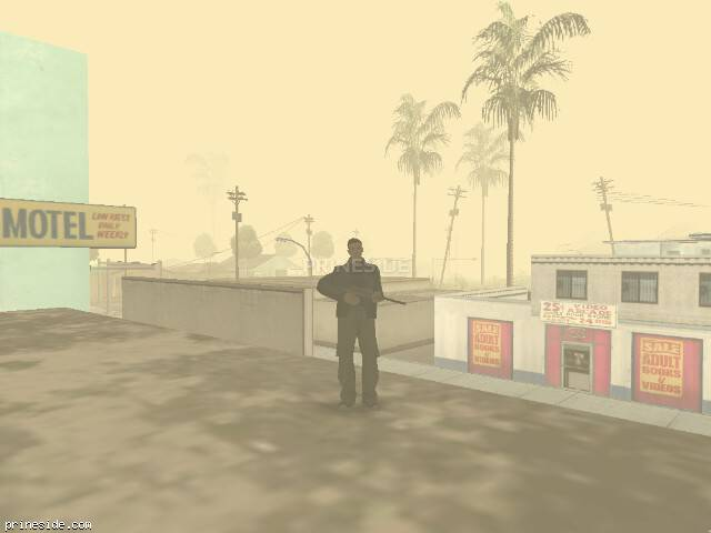 GTA San Andreas weather ID -214 at 8 hours