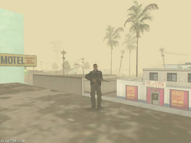 GTA San Andreas weather ID 1066 at 9 hours