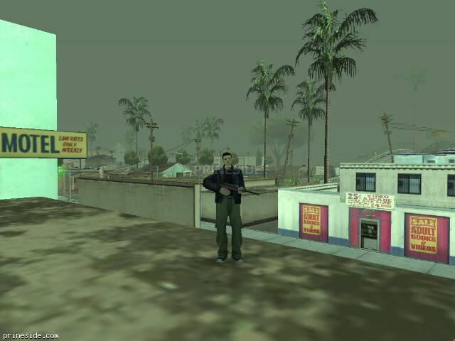 Просмотр погоды GTA San Andreas с ID 43 в 14 часов
