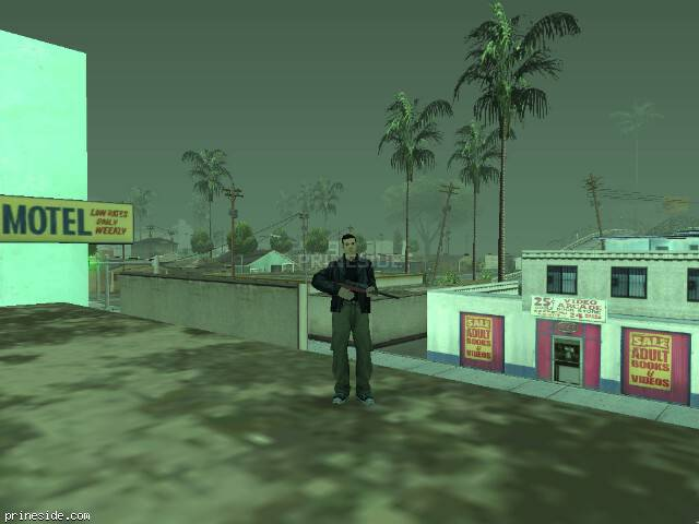 GTA San Andreas weather ID 43 at 17 hours