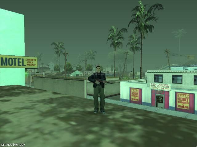 Просмотр погоды GTA San Andreas с ID 43 в 18 часов