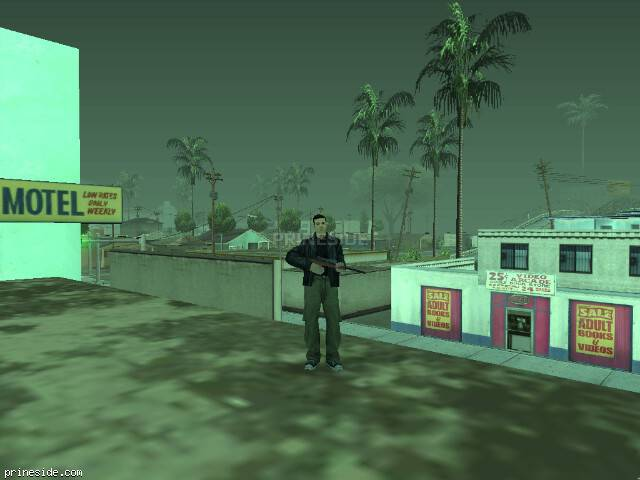 GTA San Andreas weather ID 299 at 19 hours