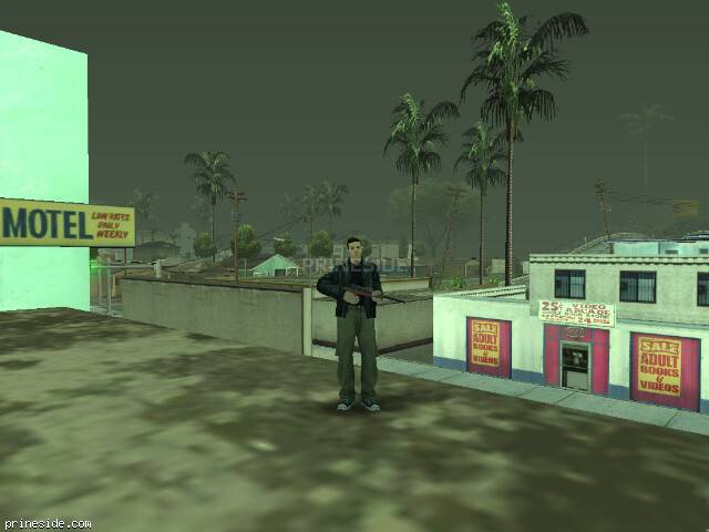 GTA San Andreas weather ID 811 at 20 hours