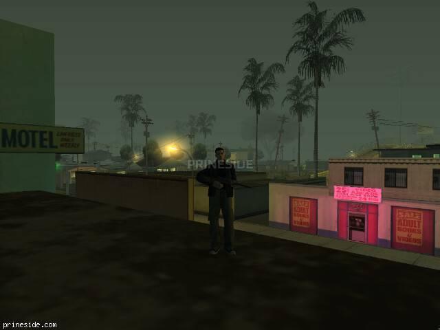 Просмотр погоды GTA San Andreas с ID 43 в 6 часов
