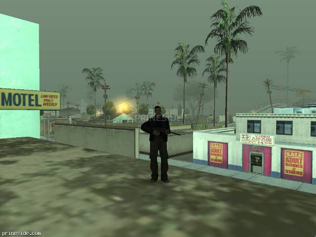 GTA San Andreas weather ID 43 at 7 hours
