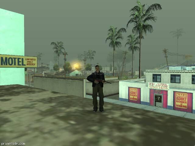 Просмотр погоды GTA San Andreas с ID 43 в 8 часов