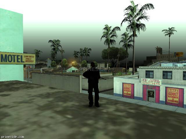 GTA San Andreas weather ID 45 at 10 hours