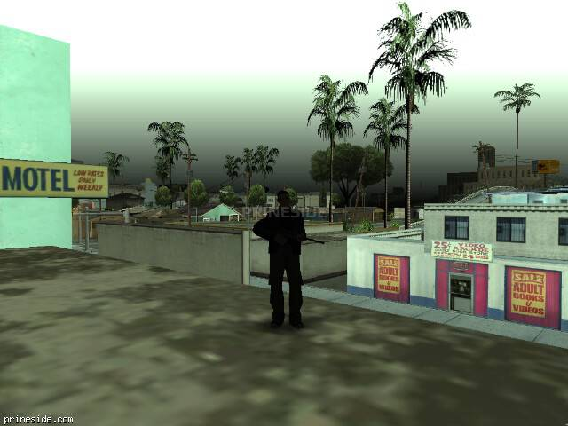 GTA San Andreas weather ID -467 at 14 hours