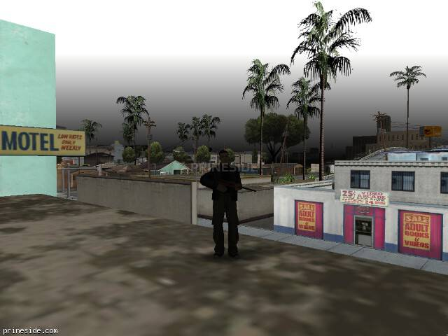 GTA San Andreas weather ID -467 at 19 hours