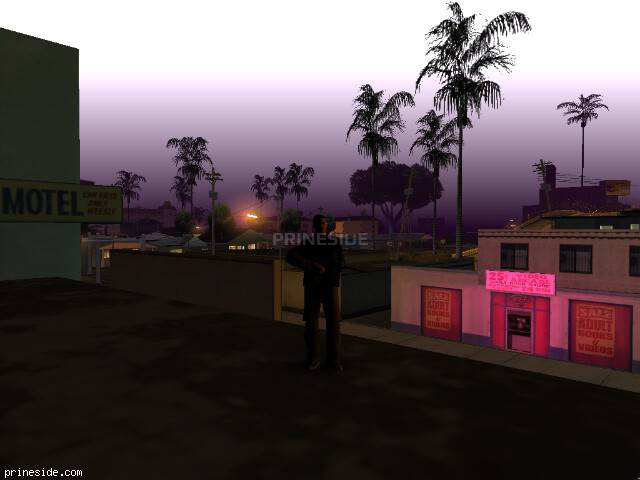 GTA San Andreas weather ID 45 at 2 hours