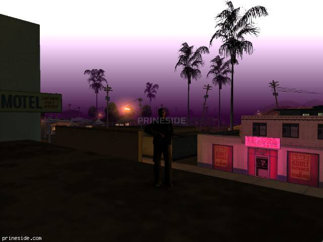 GTA San Andreas weather ID 301 at 3 hours