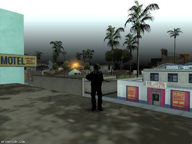 GTA San Andreas weather ID 301 at 7 hours
