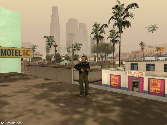 GTA San Andreas weather ID 46 at 10 hours