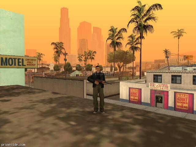 Просмотр погоды GTA San Andreas с ID 46 в 12 часов