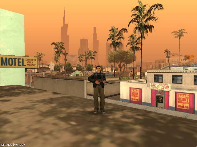 GTA San Andreas weather ID -722 at 16 hours