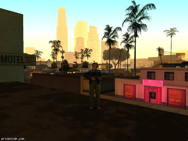 GTA San Andreas weather ID 46 at 1 hours