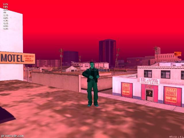 GTA San Andreas weather ID 46 at 20 hours