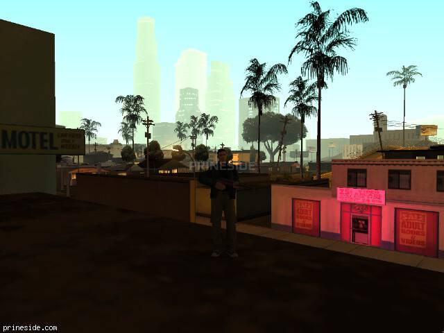 GTA San Andreas weather ID 46 at 3 hours
