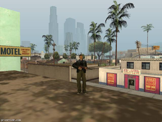 GTA San Andreas weather ID 46 at 9 hours
