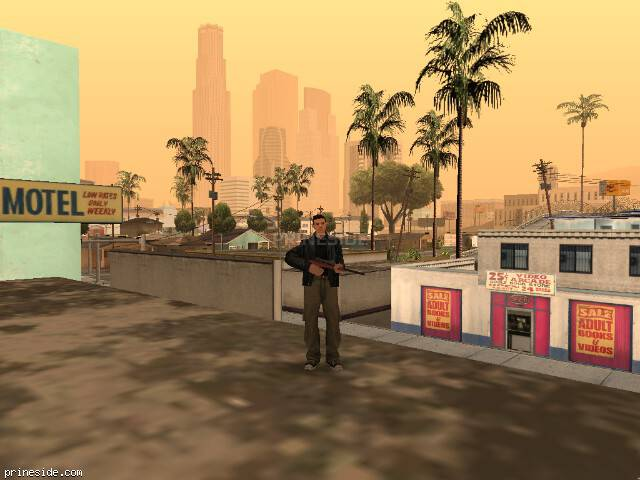 GTA San Andreas weather ID 47 at 11 hours