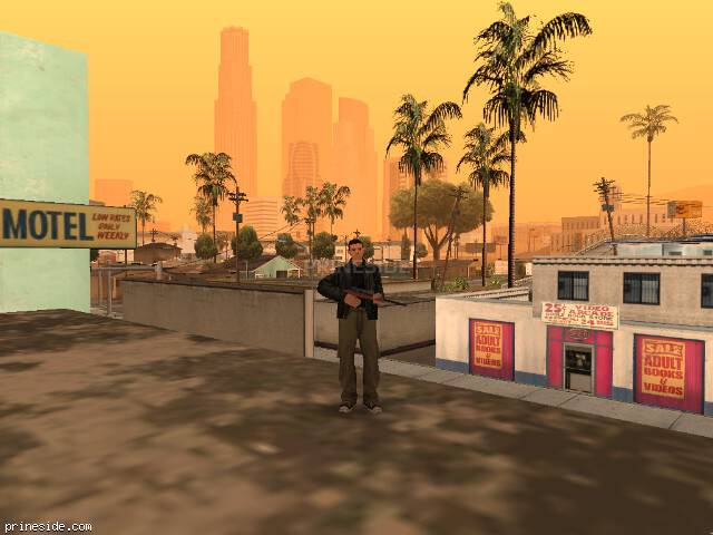 GTA San Andreas weather ID 47 at 13 hours
