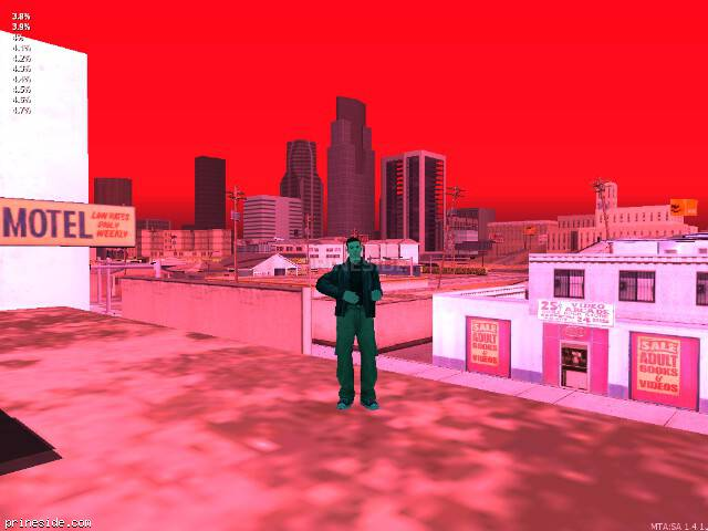 GTA San Andreas weather ID 47 at 20 hours