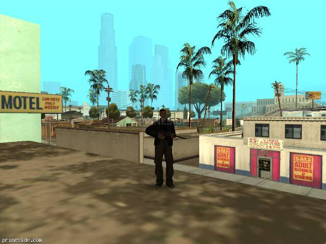GTA San Andreas weather ID 47 at 7 hours