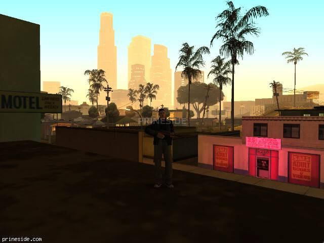 GTA San Andreas weather ID 48 at 2 hours