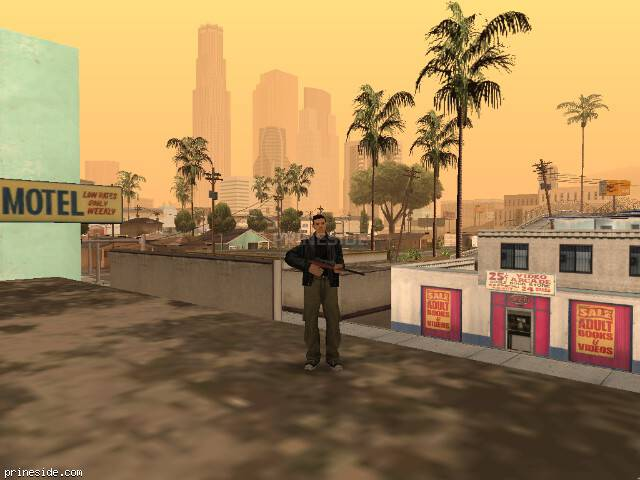 GTA San Andreas weather ID 49 at 11 hours