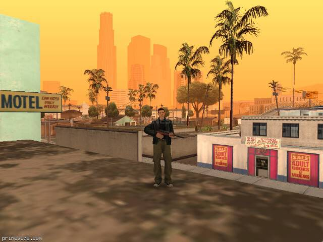 GTA San Andreas weather ID 49 at 16 hours